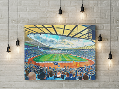 hampden park canvas a2 size